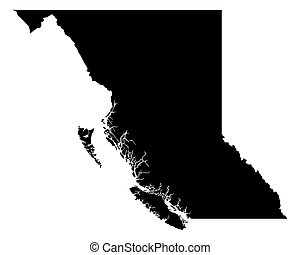 mapa, colombia, británico