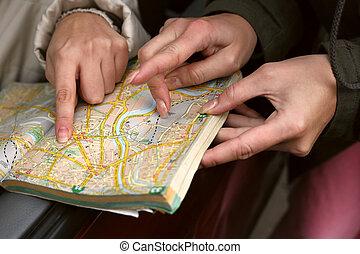 mapa de calle