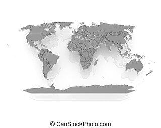 mapa, de, el, world.