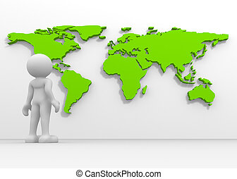 mapa del mundo