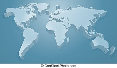 mapa del mundo, plano de fondo