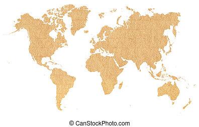 mapa, doklady papírová krabice, grafické pozadí, společnost