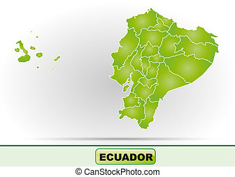 mapa, ecuador