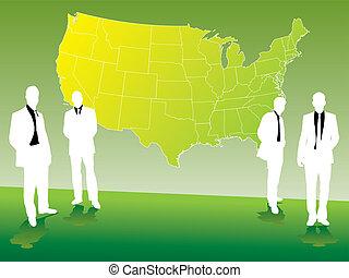mapa, empresa / negocio