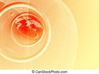 mapa, espaço, texto, abstratos, fundo, mundo, seu