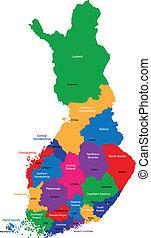 mapa, finland