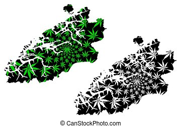 mapa, follaje, hoja, thc), cannabis, (administrative, norway...
