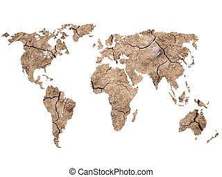 mapa, forma, mundo, plano de fondo, tierra