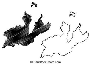 mapa, ginebra