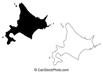 mapa, hokkaido
