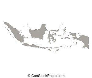 mapa, indonesia
