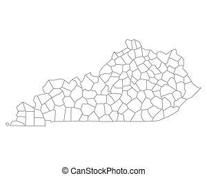 mapa, kentucky