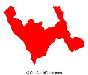 mapa, libertad, la