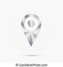 mapa, localização, alfinete