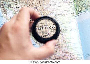 mapa, méxico