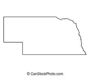 mapa, nebraska