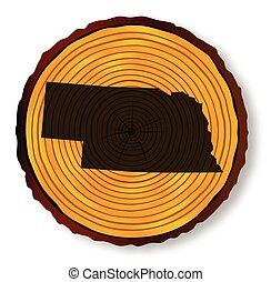 mapa, nebraska, madeira