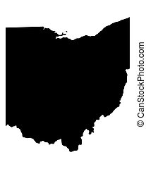 mapa, ohio