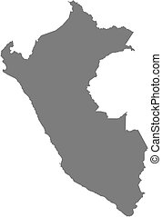 mapa, perú