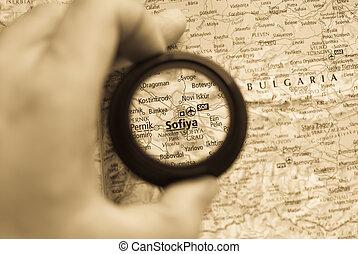 mapa, sofiya