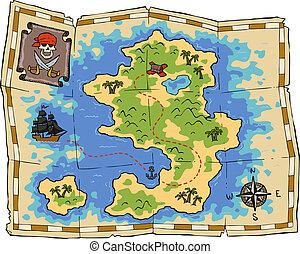 mapa tesouro