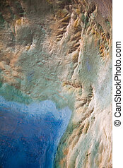mapa, topografia