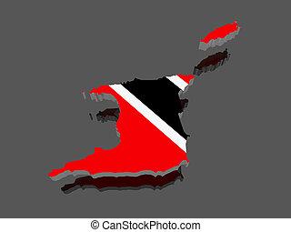 mapa, trinidad
