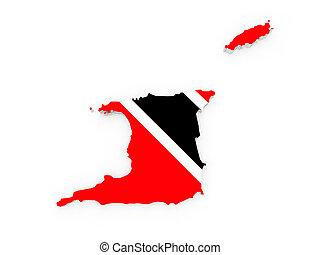 mapa, trinidad.
