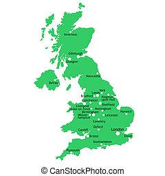 mapa, uk