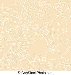 mapa, vetorial, amarela