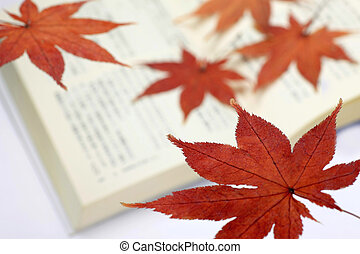 maple bookmark