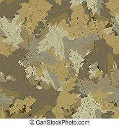 maple, camuflagem, background.eps
