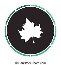 Maple Leaf computer symbol