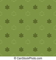 maple leaf pattern - Seamless pattern with maple leaf vector...
