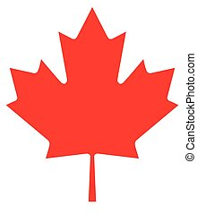 Maple Leaf - red maple leaf