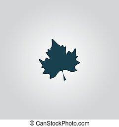 Maple Leaf Silhouette