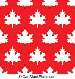 Maple Leaf Wallpaper Negative