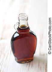 Maple syrup - A full bottle of real maple syrup