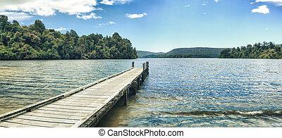 mapourika, panorama, lac