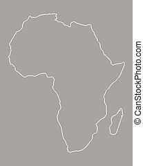 mappa, africa