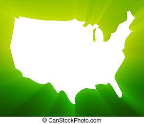 mappa, america