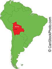 mappa, bolivia