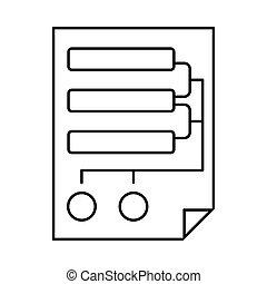 mappa, codice, icona
