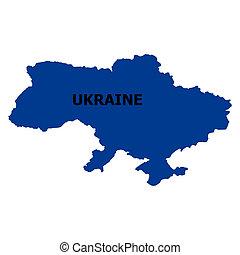 mappa, di, ucraina