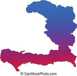 mappa, haiti