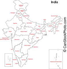 mappa, india