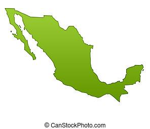 Messico clipart e archivi di - Mappa messico mappa da colorare pagina ...