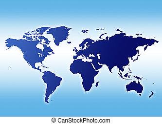 mappa, mondo