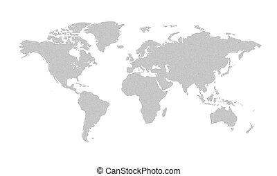 mappa mondo, grigio