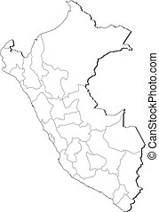 mappa, perù